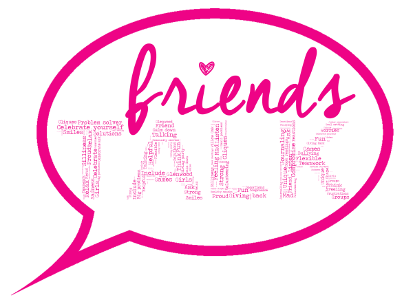 Friends TALK logo rough draft 1